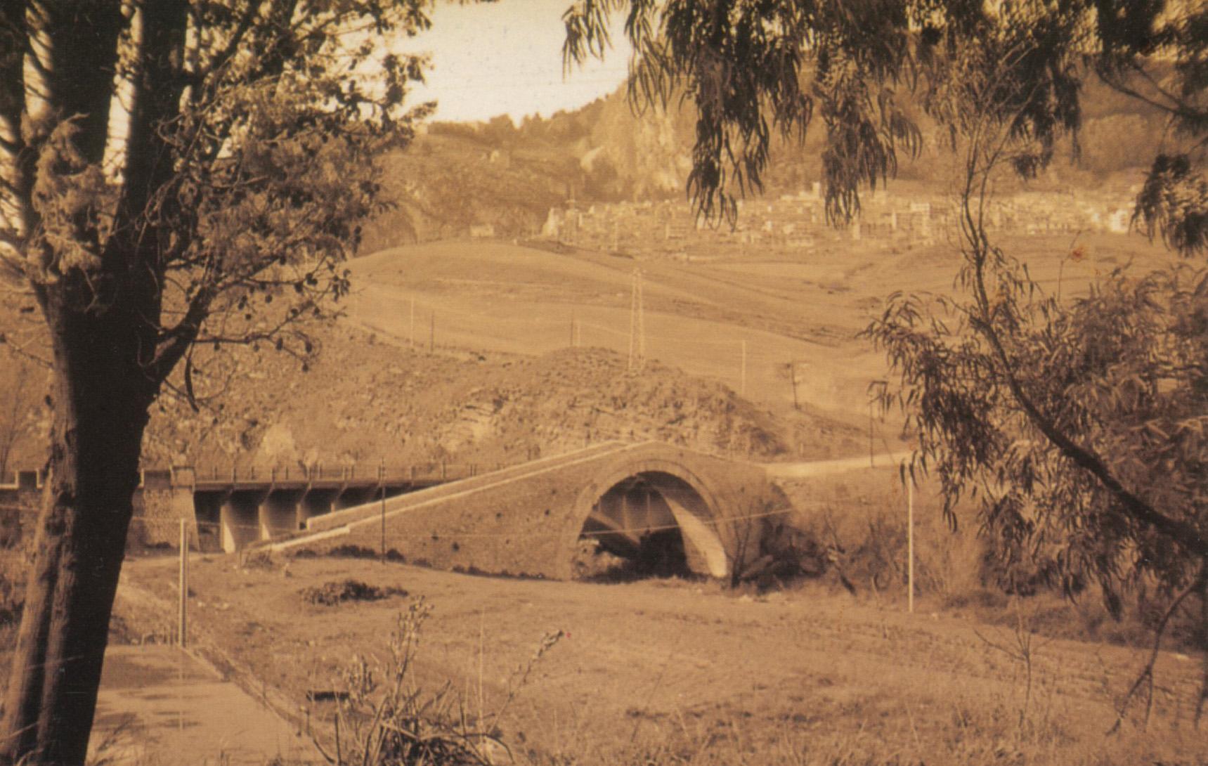 ponte vecchio Castronovo di Sicilia