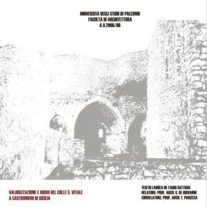 Valorizzazione e riuso del colle San-Vitale a Castonovo di Sicilia